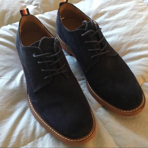 Tommy Hilfiger Derby Mens Sneakers Navy